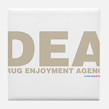 DEA Drug Enjoyment Agency Tile Coaster
