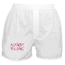 Against Bullying Boxer Shorts
