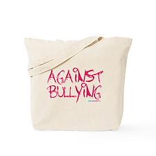Against Bullying Tote Bag
