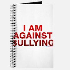 I Am Against Bullying Journal