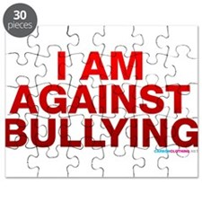 I Am Against Bullying Puzzle