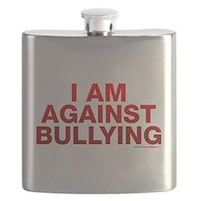 I Am Against Bullying Flask
