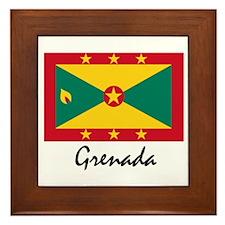 Grenada Framed Tile