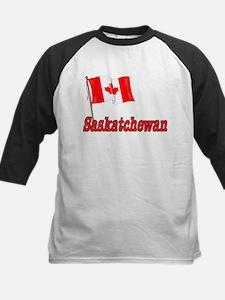 Canada Flag - Saskatchewan Text Tee