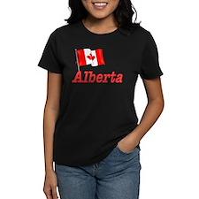 Canada Flag - Alberta Text Tee
