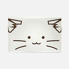 Fuzzballs Cat Face Magnets