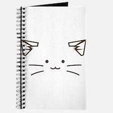 Fuzzballs Cat Face Journal