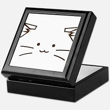 Fuzzballs Cat Face Keepsake Box