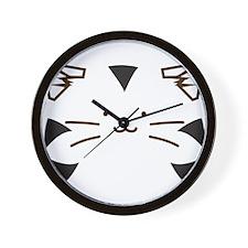 Fuzzballs Tiger Face Wall Clock
