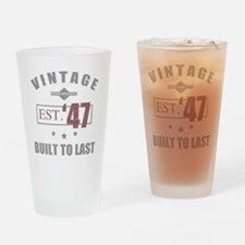 1947 Drinking Glass