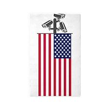 American CCTV Freedom 3'x5' Area Rug