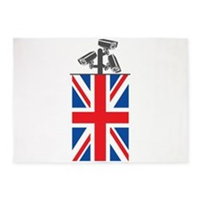 British CCTV Freedom 5'x7'Area Rug