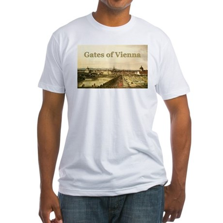Gates of Vienna Fitted T-Shirt