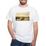 Gates of Vienna White T-Shirt