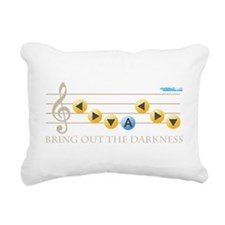 Bring out the Darkness Rectangular Canvas Pillow