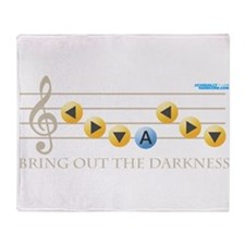 Bring out the Darkness Throw Blanket