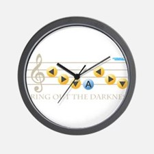 Bring out the Darkness Wall Clock