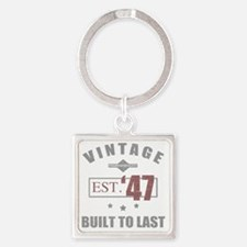 Cool 1947 Square Keychain