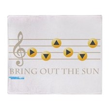 Bring Out The Sun Throw Blanket