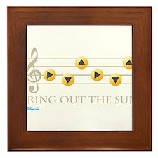 Bring Out The Sun Framed Tile