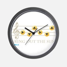 Bring Out The Sun Wall Clock