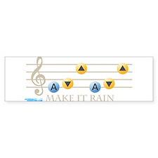Make It Rain Bumper Bumper Sticker