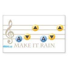 Make It Rain Decal