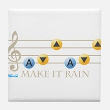 Make It Rain Tile Coaster