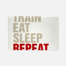 Train Eat Sleep Repeat Magnets