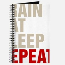 Train Eat Sleep Repeat Journal