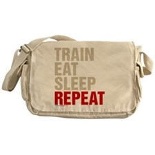 Train Eat Sleep Repeat Messenger Bag