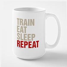 Train Eat Sleep Repeat Mugs