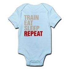 Train Eat Sleep Repeat Body Suit