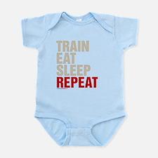 Train Eat Sleep Repeat Body Suit