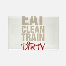 Eat Clean Train Dirty Magnets