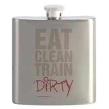 Eat Clean Train Dirty Flask