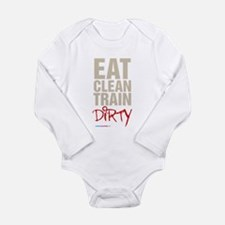 Eat Clean Train Dirty Body Suit