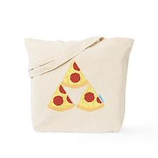 Pizza Triforce Tote Bag