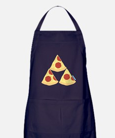 Pizza Triforce Apron (dark)