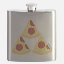 Pizza Triforce Flask