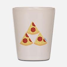 Pizza Triforce Shot Glass