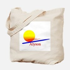 Alyson Tote Bag