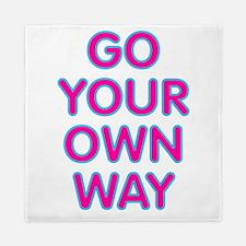 Go Your Own Way Queen Duvet