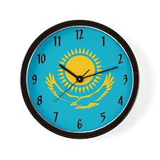 Flag of Kazakhstan Wall Clock