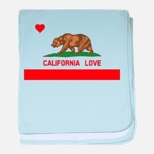 California Love baby blanket
