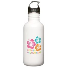 Hibiscus Retired Accou Water Bottle
