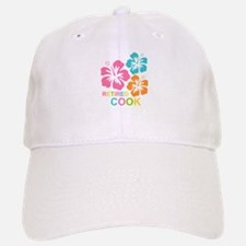 Hibiscus Retired Cook Baseball Baseball Cap