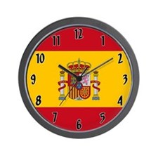 Flag of Spain Wall Clock