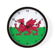 Flag of Wales Wall Clock