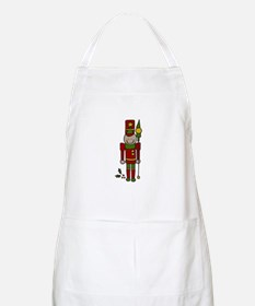 Christmas Nut Cracker Apron